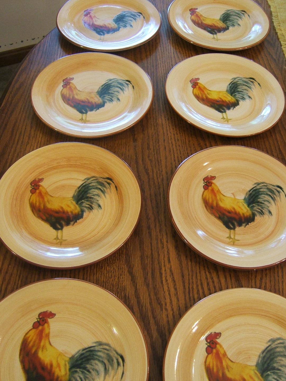 Marvelous Orange Rooster Dinnerware Ideas - Best Image Engine . & Marvelous Orange Rooster Dinnerware Ideas - Best Image Engine ...