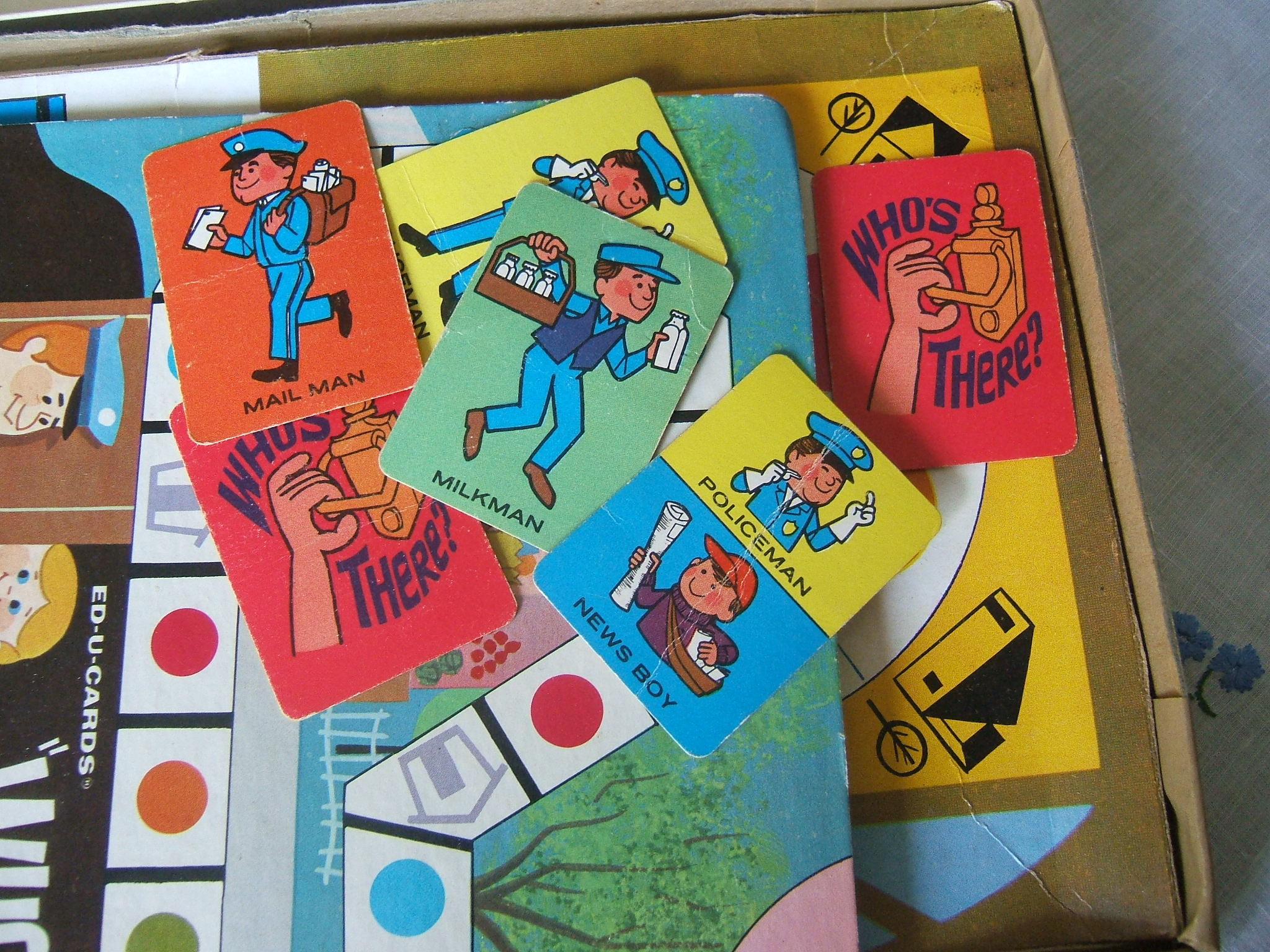 Speaking, opinion, shaped go fish vintage card game