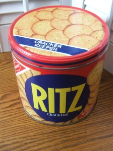 Vintage Ritz Cracker Tin