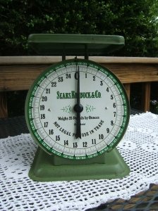 Vintage Sears Scale